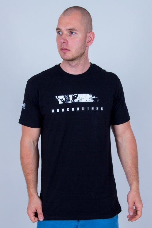 BOR T-SHIRT WILK BLACK