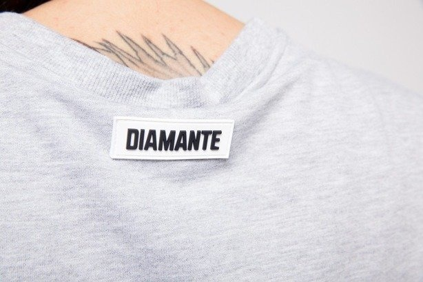 DIAMANTE CHICKS BLUZA DW QUITED MELANGE