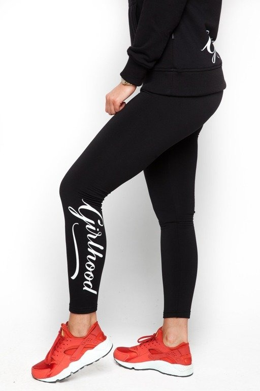 DIAMANTE CHICKS LEGGINSY GIRLHOOD BLACK