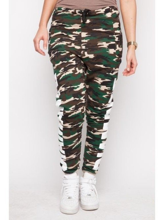 DIAMANTE CHICKS SPODNIE DRESOWE DIAMANTE HIPSTER CAMO