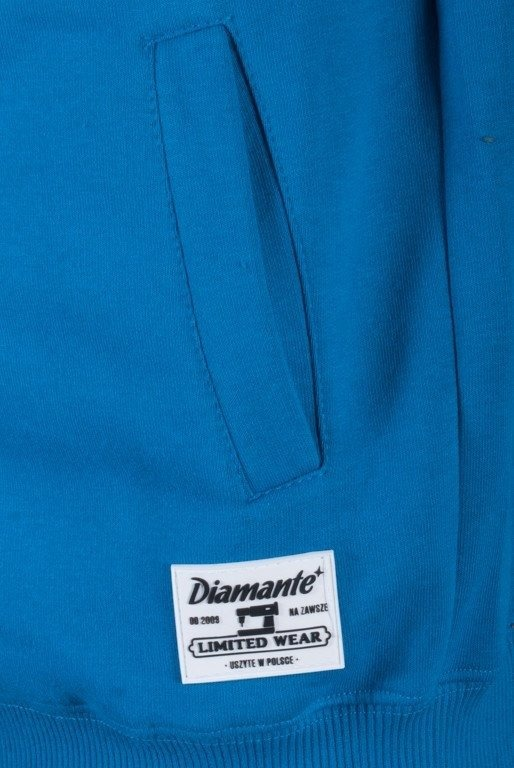 DIAMANTE WEAR BLUZA Z KAPTUREM SIEDZĄ PIJĄ BLUE