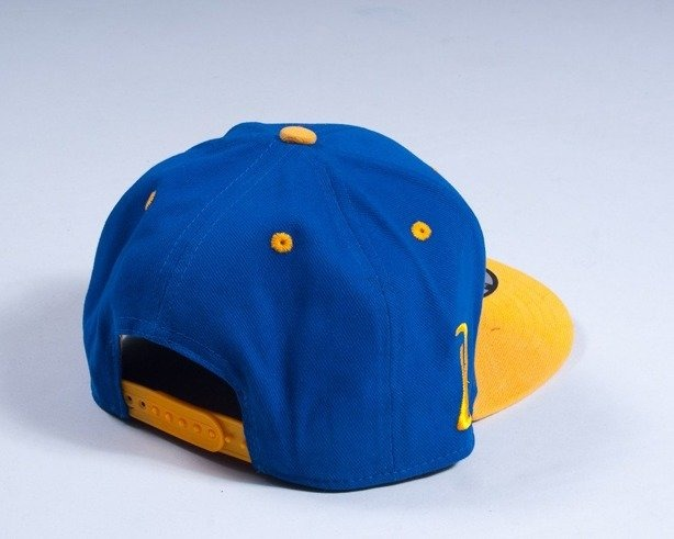 DIAMANTE WEAR CZAPKA SNAPBACK CLASSIC BLUE-YELLOW