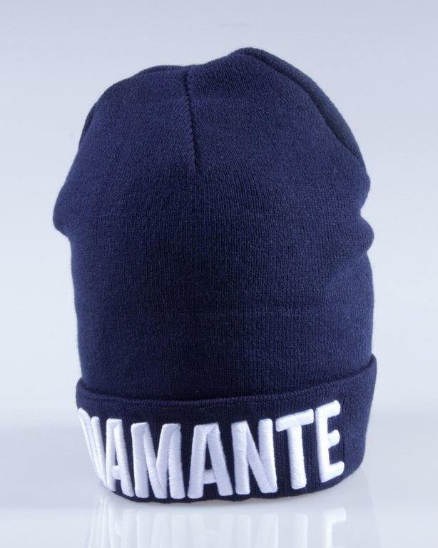 DIAMANTE WEAR CZAPKA ZIMOWA CLASSIC NAVY