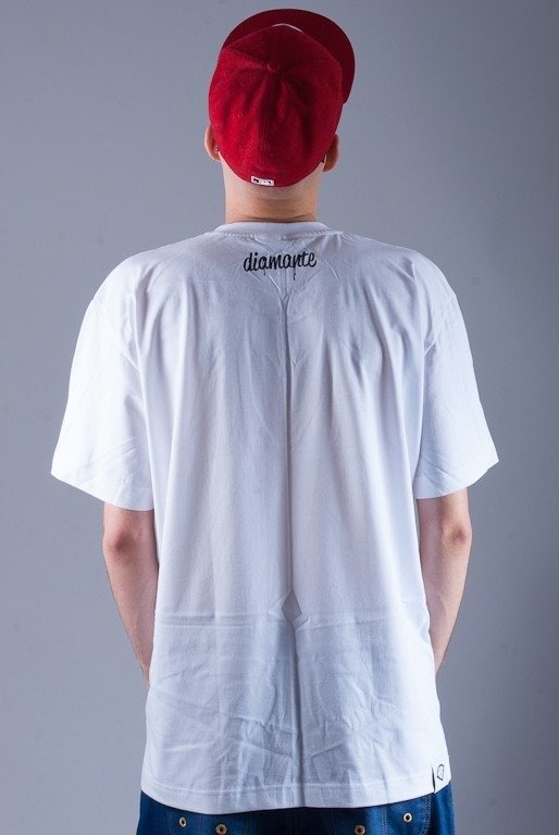 DIAMANTE WEAR KOSZULKA DIAMANTE GOODS WHITE
