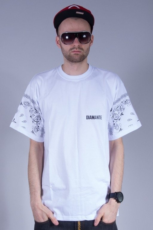 DIAMANTE WEAR KOSZULKA GANGS WHITE