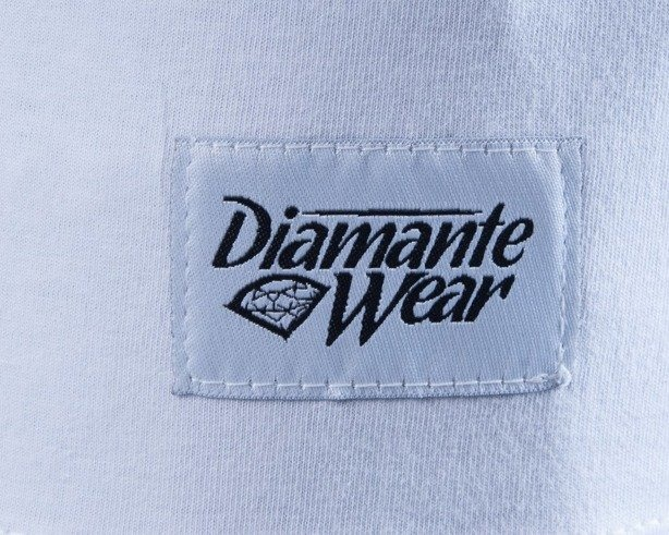DIAMANTE WEAR KOSZULKA NEON WEED WHITE