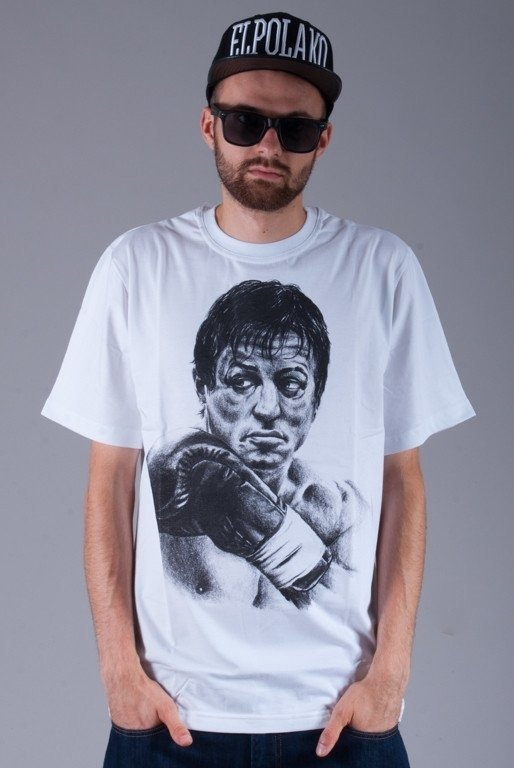 DIAMANTE WEAR KOSZULKA ROCKY BALBOA WHITE