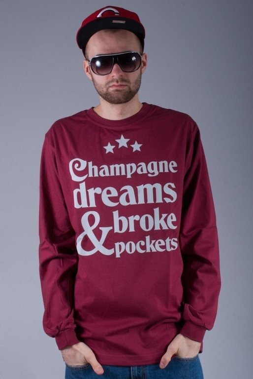 DIAMANTE WEAR LONGSLEEVE CHAMPAGNE DREAMS BRICK