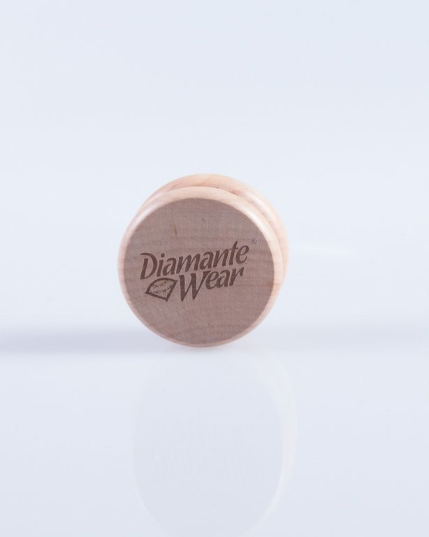 DIAMANTE WEAR MŁYNEK LOGO WOOD