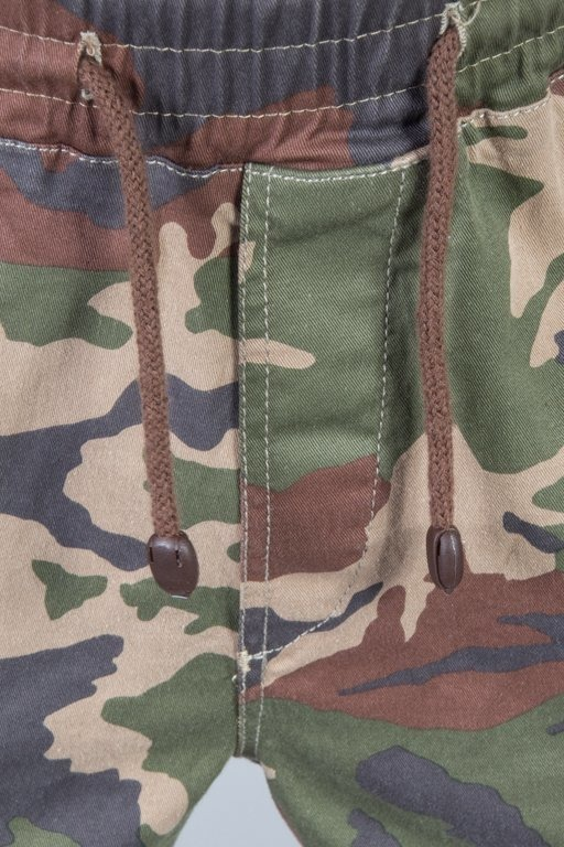 DIAMANTE WEAR PANTS CHINO JOGGER CLASSIC CAMO