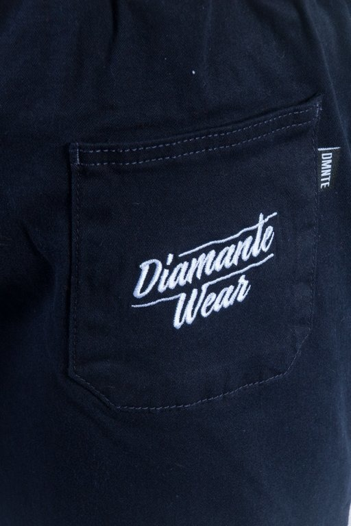 DIAMANTE WEAR PANTS CHINO JOGGER CLASSIC NAVY