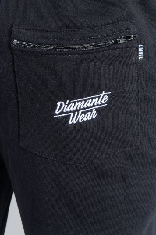 DIAMANTE WEAR SPODNIE DRESOWE CUT BLACK