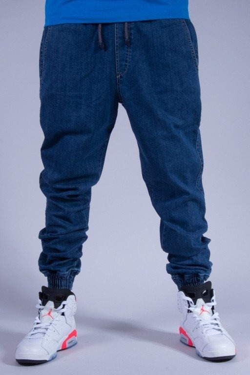 DIAMANTE WEAR SPODNIE JEANS JOGGER NEW LIGHT