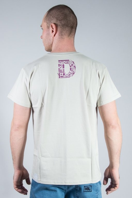 DIAMANTE WEAR T-SHIRT BONG ICON BEIGE