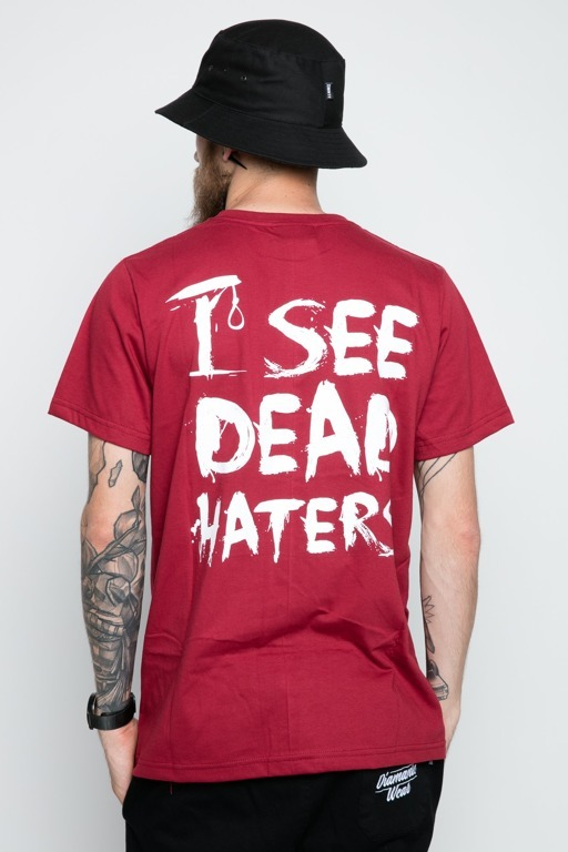 DIAMANTE WEAR T-SHIRT I SEE DEAD HATERS BRICK