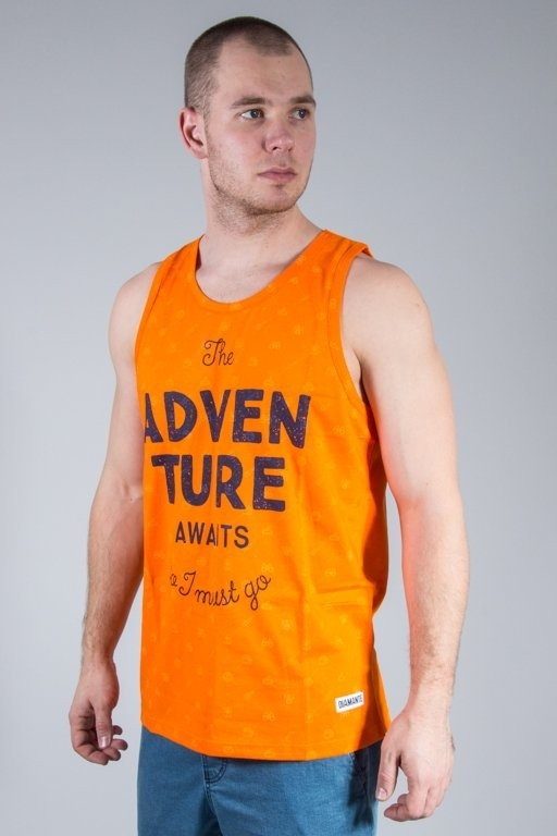 DIAMANTE WEAR TANK TOP ADVENTURE AVIAST ORANGE