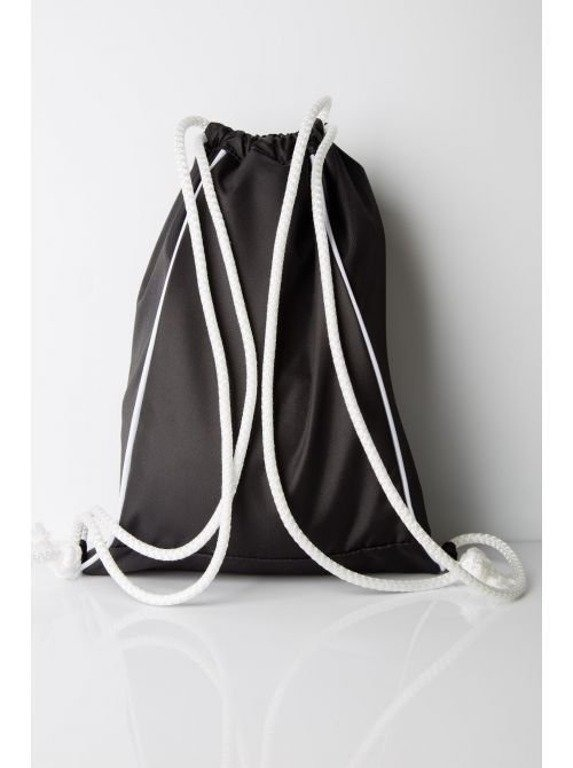 DIAMANTE WEAR WOREK GYMSACK BLACK
