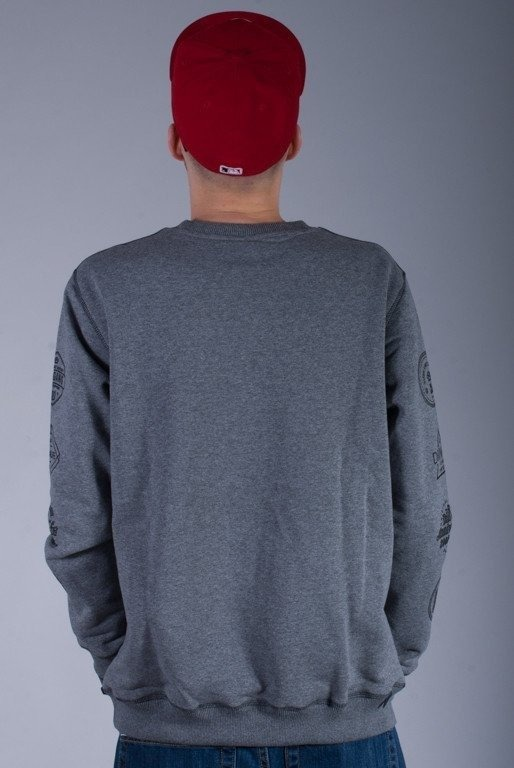 DIIL BLUZA BEZ KAPTURA HARVARD GREY