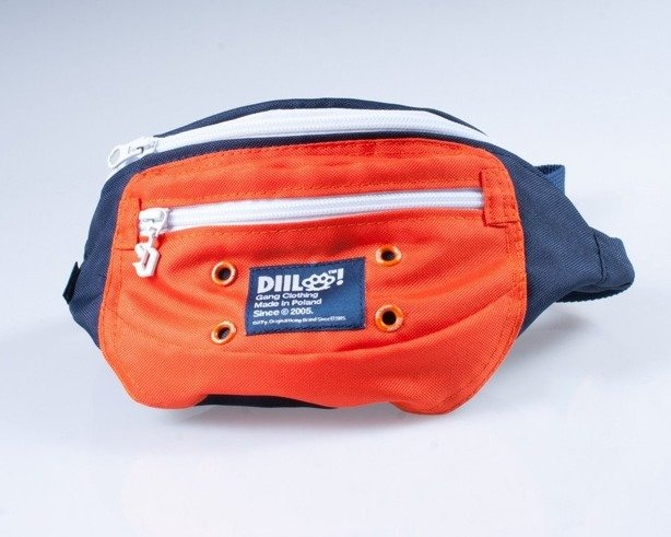 DIIL SASZETKA NERKA MD NAVY-ORANGE