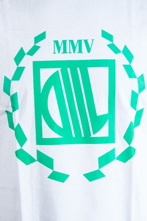 DIIL T-SHIRT LAUR WHITE-GREEN