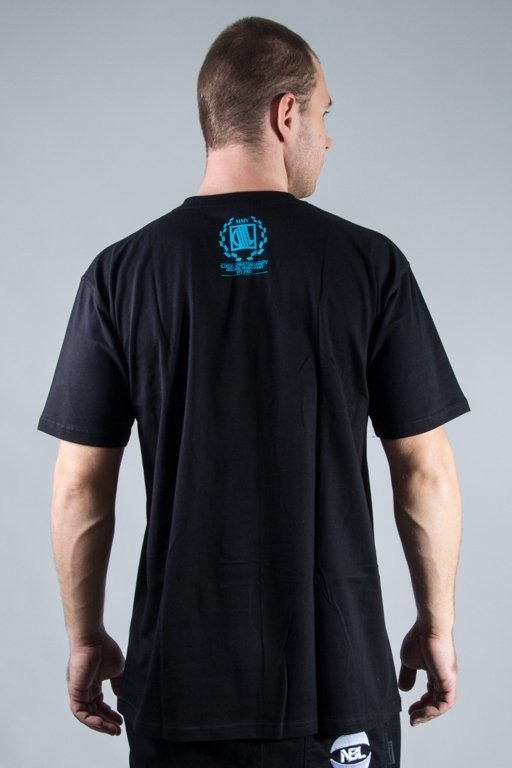 DIIL T-SHIRT LAURENT BLACK-BLUE