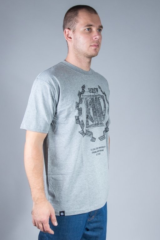 DIIL T-SHIRT SKETCH GREY