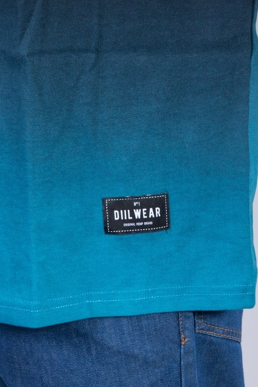 DIIL T-SHIRT TONE BLACK-BLUE