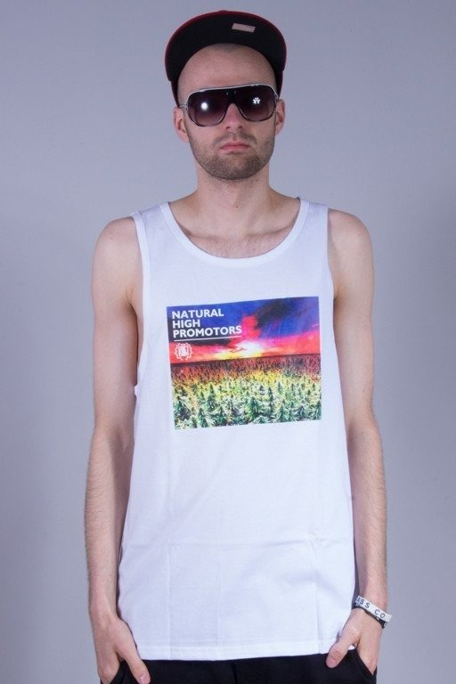 DIIL TANK TOP NATURAL HIGH PROMOTORS WHITE