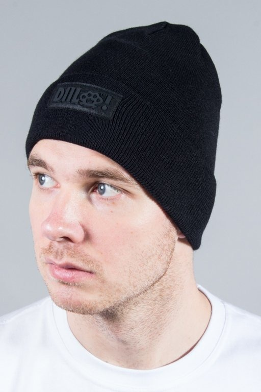 DIIL WINTER CAP KLASYK BLACK