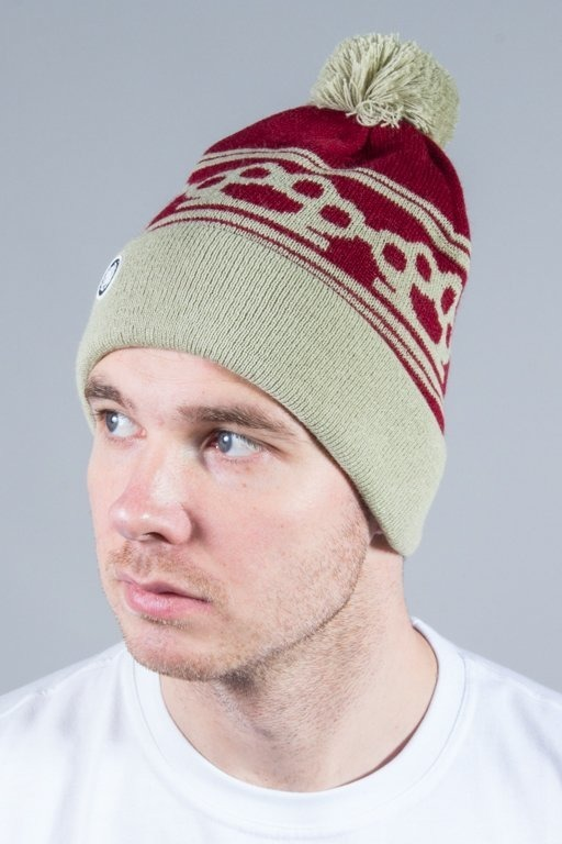 DIIL WINTER CAP KNUCKLES BRICK-BEIGE