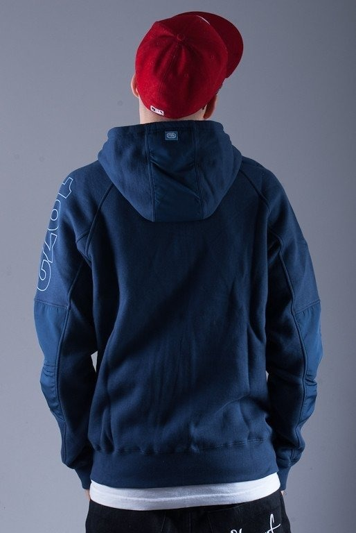 ECKO BLUZA Z KAPTUREM ZIP CORE NAVY BLUE