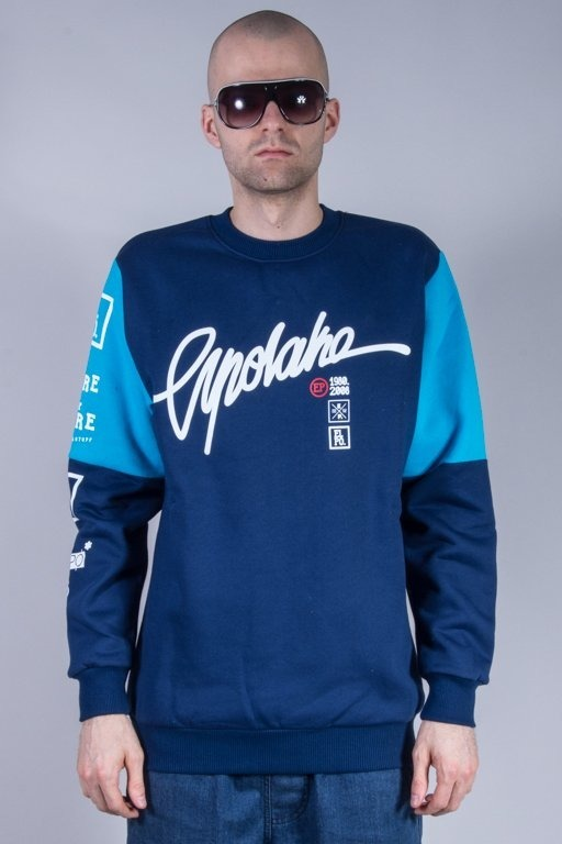 EL POLAKO BLUZA BEZ KAPTURA CHAMPION NAVY