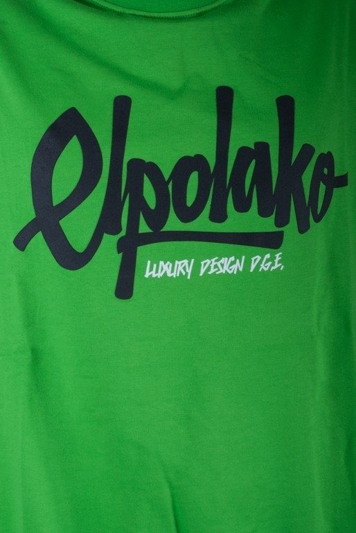 EL POLAKO BLUZA BEZ KAPTURA LTD LUXURY GREEN