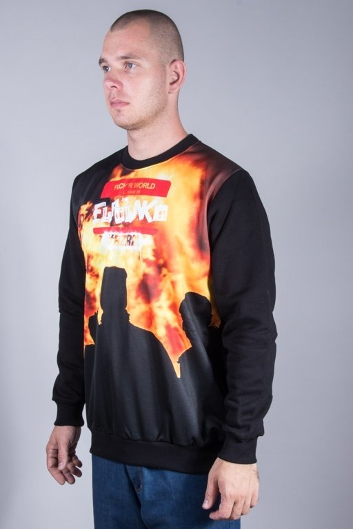 EL POLAKO CREWNECK FTW_MINI RIOT BLACK