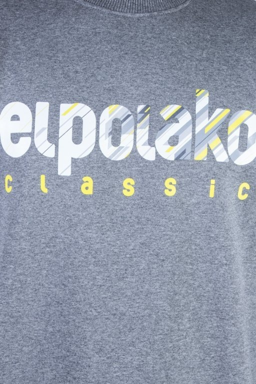 EL POLAKO CREWNECK SHADOW CLASSIC GREY