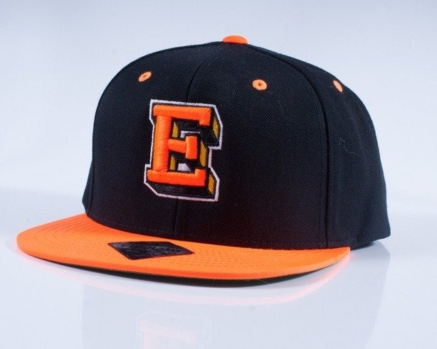 EL POLAKO CZAPKA SNAPBACK E BLACK-ORANGE
