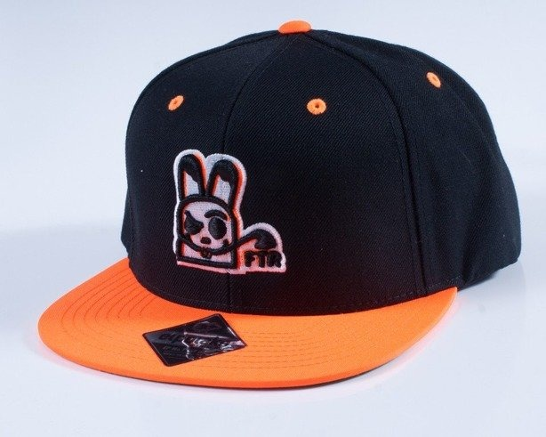 EL POLAKO CZAPKA SNAPBACK FOLLOW BLACK-ORANGE