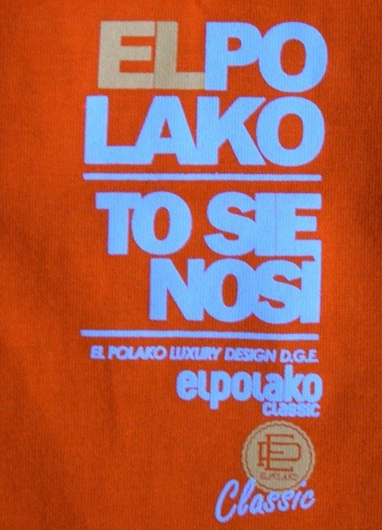 EL POLAKO KOSZULKA CALSSIC 2013 ORANGE