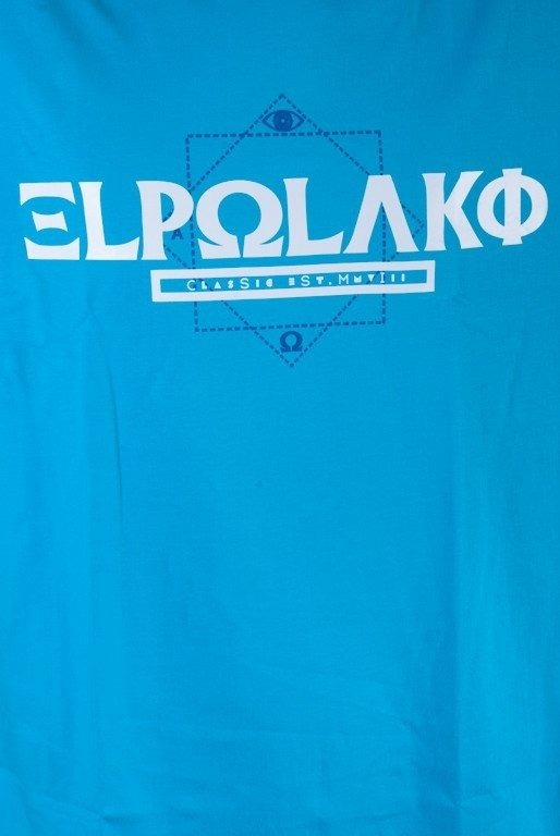 EL POLAKO KOSZULKA GREEK BLUE