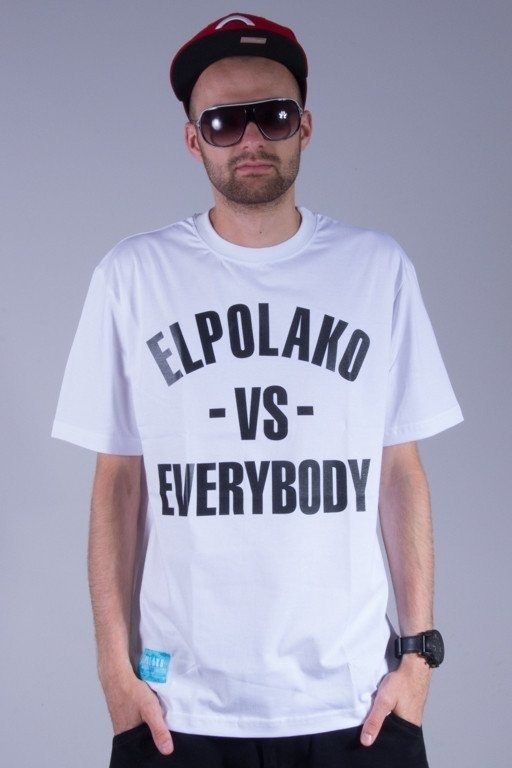 EL POLAKO KOSZULKA VS EVERYBODY WHITE
