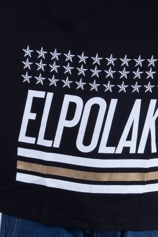 EL POLAKO LONGSLEEVE GHETTO HOOD BLACK
