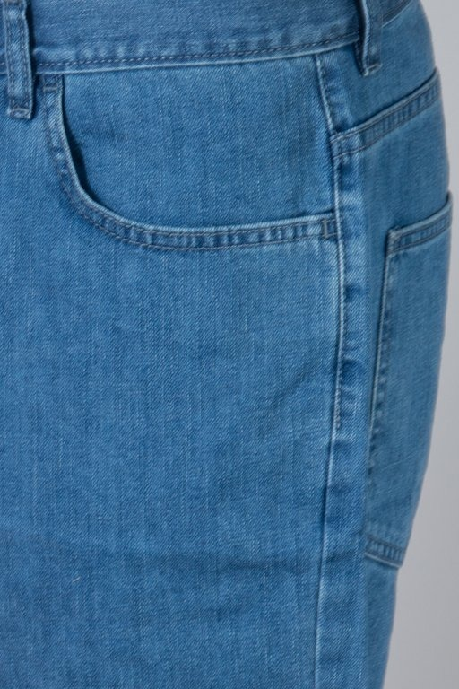 EL POLAKO SHORTS JEANS LOGO CUT LIGHT