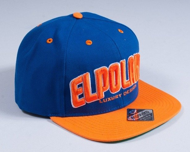 EL POLAKO SNAPBACK CLASSIC 2013 BLUE-ORANGE