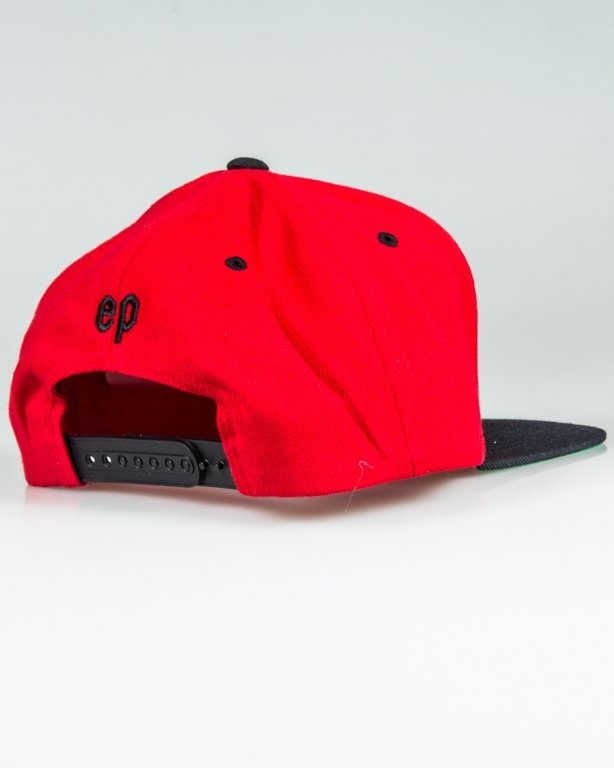 EL POLAKO SNAPBACK HANDWRITTEN RED