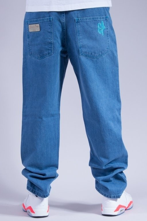 EL POLAKO SPODNIE JEANS 34 LIGHT