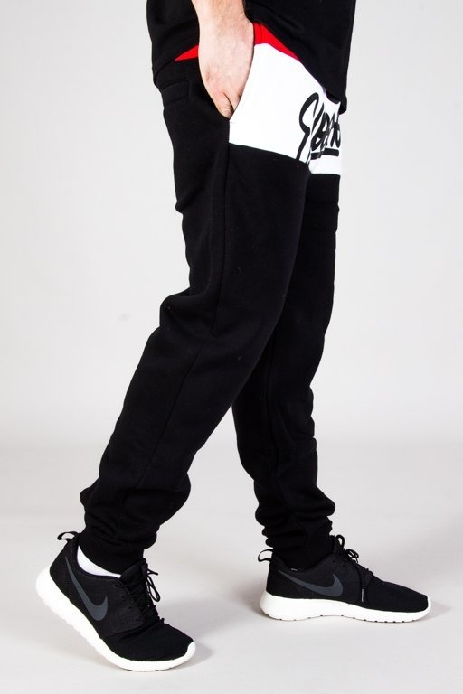 EL POLAKO SWEATPANTS 3COLORS WRITTEN  BLACK