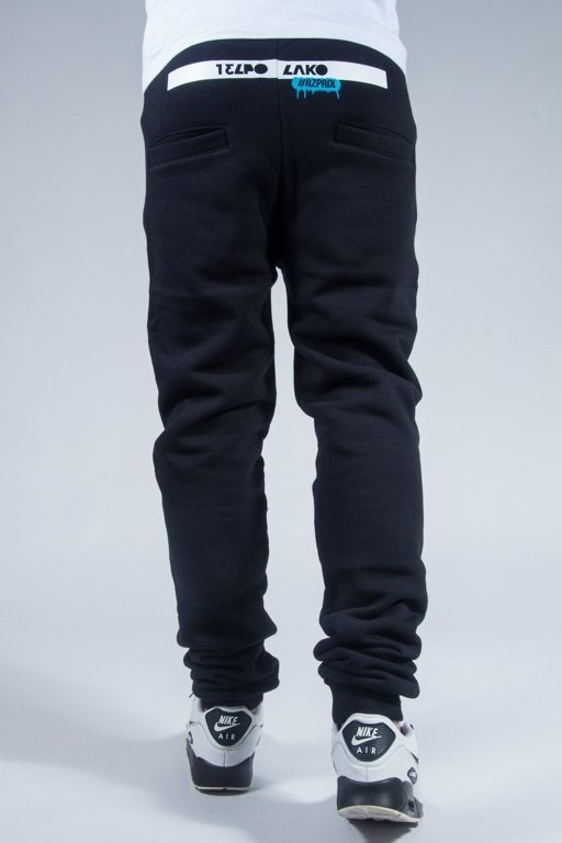 EL POLAKO SWEATPANTS AVANGARD BLACK