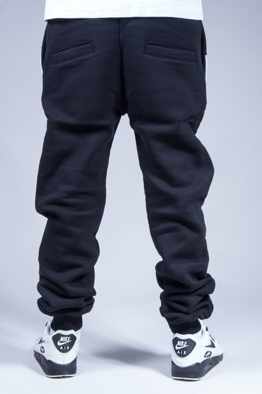 EL POLAKO SWEATPANTS BELT BLACK