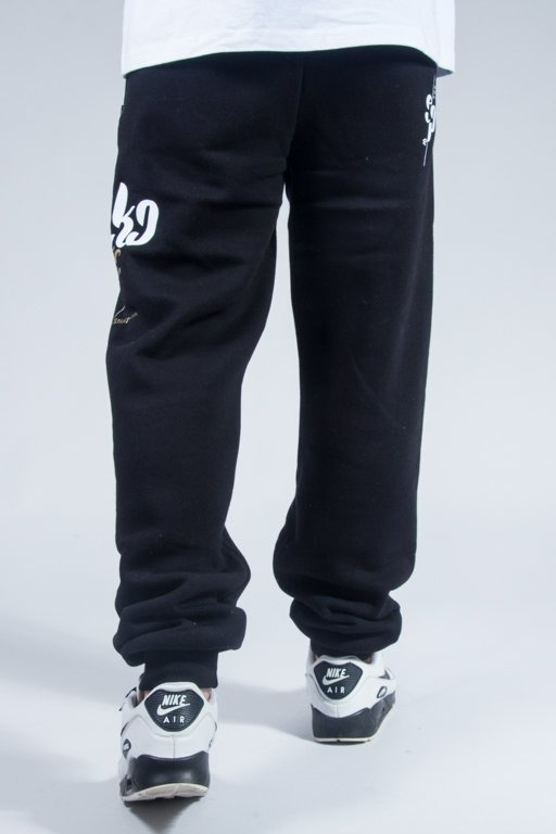EL POLAKO SWEATPANTS EPFONT BLACK
