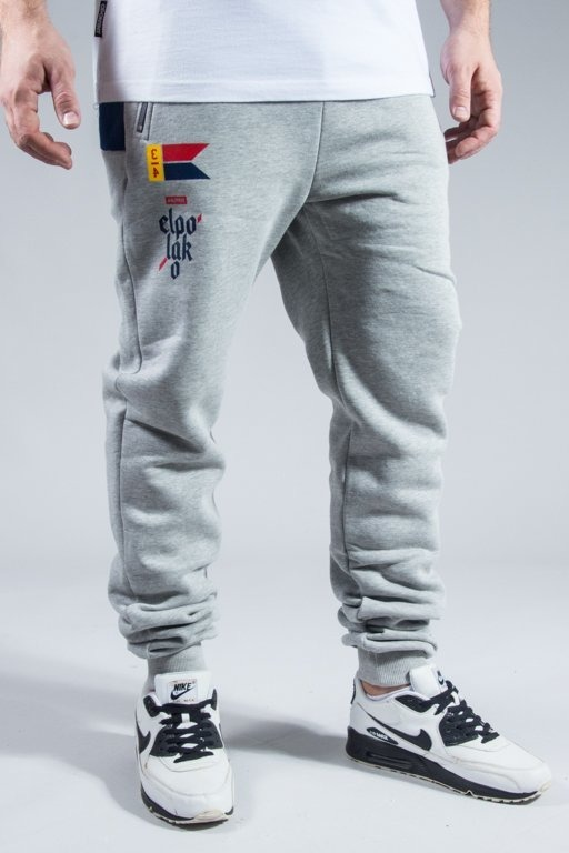 EL POLAKO SWEATPANTS FLAG MELANGE